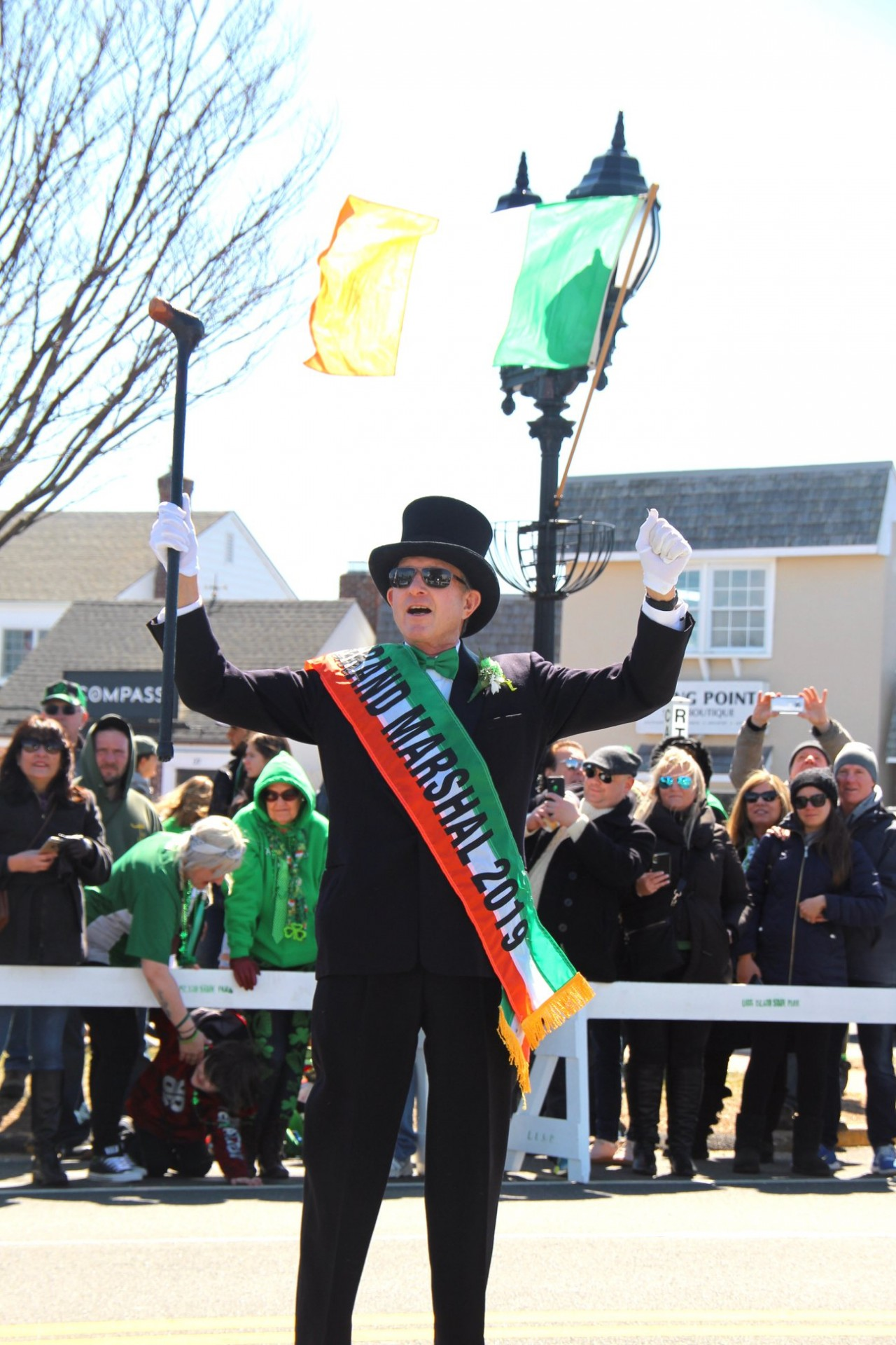 Grand Marshal of St. Patrick's Parade 2019