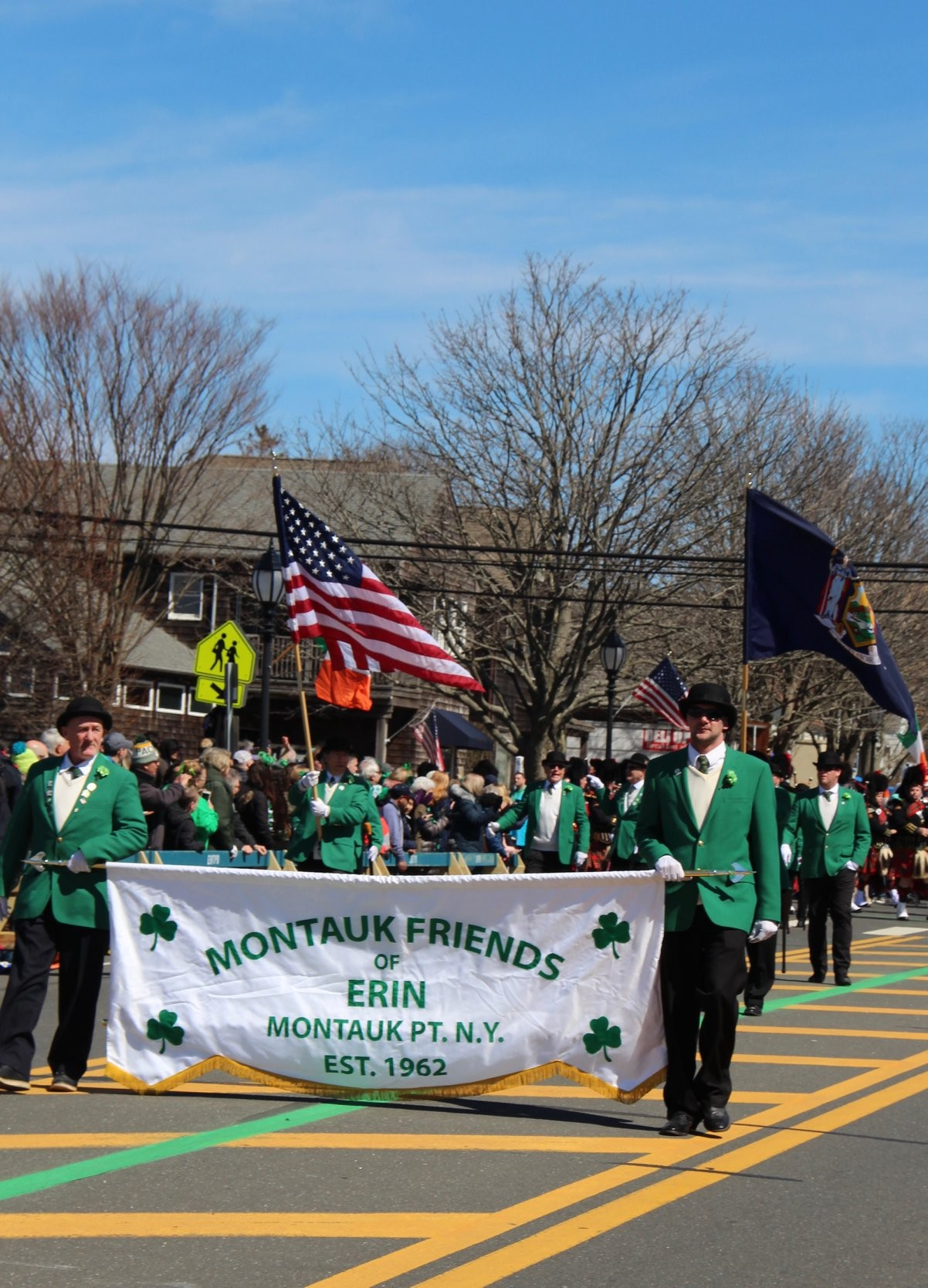 St. Patrick's Day Parade in Montauk